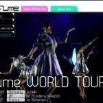 PERFUME 2nd World Tour in Europe 2013