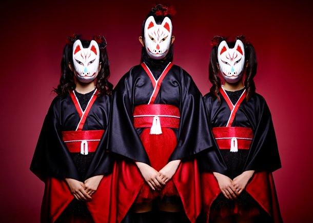 NekoPOP-BABYMETAL-Megitsune-artist-mask