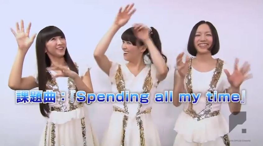 NekoPOP-Perfume-Level-3-dance-contest