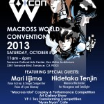 "MacrossWorld Convention 2013 announces ""Macross Idol"" competition"