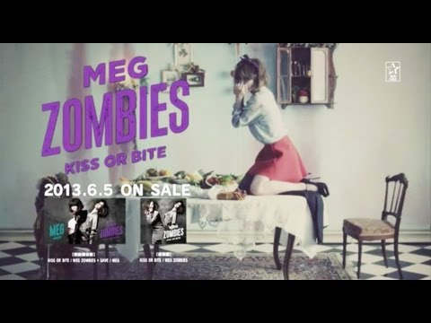 MEG ZOMBIES – KISS OR BITE+ SAVE (PV)
