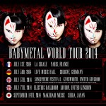 BABYMETAL announces World Tour dates in Europe