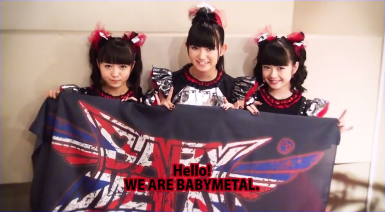 NekoPOP-BABYMETAL-World-Tour-Video-2014-England-Message