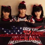 BABYMETAL's video message for the United States