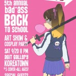 Tune in Tokyo and Ultranimbus go Back to School with Art Show and Cosplay Party in Koreatown