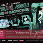 Hatsune Miku Dreams of Electric Sheep – L.A. Exhibition