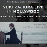 Yuki Kajiura LIVE featuring SWORD ART ONLINE concert announced for Hollywood's Dolby Theatre
