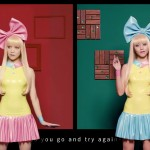 "FEMM get one step closer to real with candy-coated (almost) 3D MV ""Do It Again"""