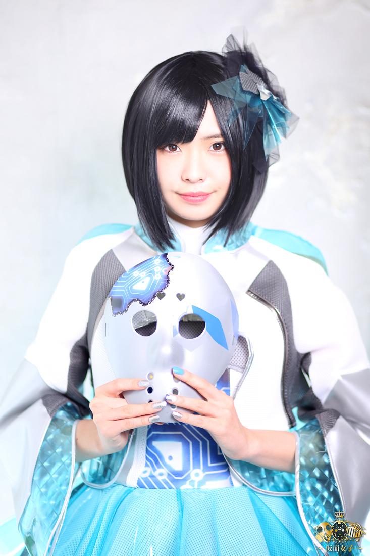 NekoPOP-Kamen-Joshi-Infinity-Girls-iiyama-PC-Misa-Kubota-2