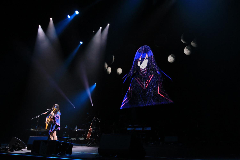 NekoPOP-Anisong-World-Matsuri-2018-Sanketsu-girl-Sayuri-concert-6